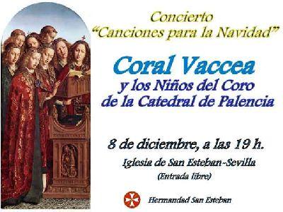 Concierto coral de Navidad en la iglesia de San Esteban de Sevilla