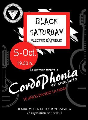 Cartel del concierto Diez años dando la Nota de CordoPhonia