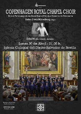 Concierto: Coro de la Capilla Real de Copenhague en el Salvador Sevilla