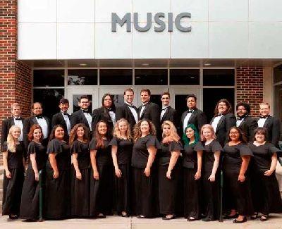 Foto promocional del coro de la Universidad Eastern New Mexico