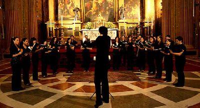 Conciertos del Coro Maese Rodrigo en Sevilla (diciembre 2013)