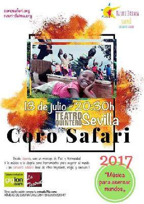 Concierto: Coro Safari en el Teatro Quintero de Sevilla