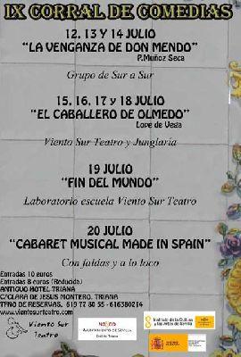 IX Corral de Comedias de Triana 2013