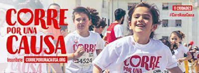 Cartel de la carrera solidaria de Entreculturas Corre por una causa 2020