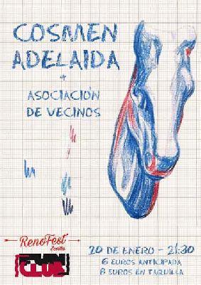 Concierto: Cosmen Adelaida y Asociación de Vecinos en FunClub Sevilla