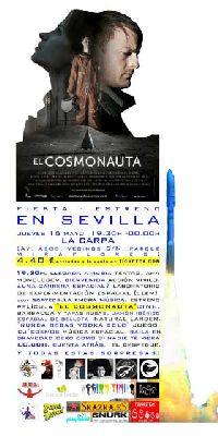 Fiesta estreno de El Cosmonauta en La Carpa Sevilla