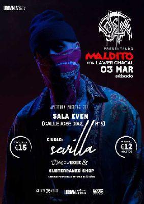 Concierto: Costa en la Sala Even Sevilla (marzo 2018)