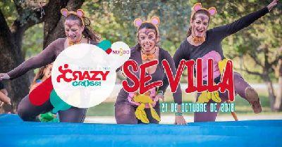 Crazy Cross Sevilla 2018 en el parque del Alamillo de Sevilla