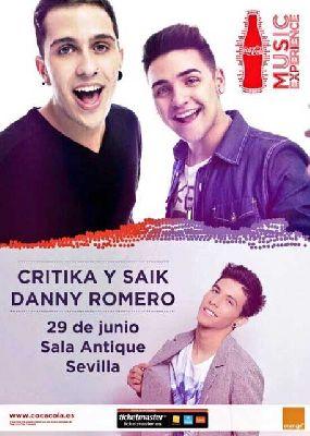 Concierto: Crítika & Saik y Danny Romero en Antique Sevilla