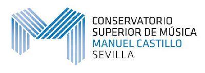 Logotipo del Conservatorio Superior de Música Manuel Castillo de Sevilla