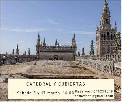 Visita a la Catedral y las cubiertas por Mosaiqueando Sevilla