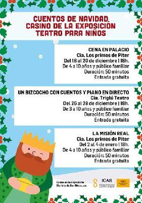 Cuentos de Navidad en el Casino de la Exposición de Sevilla