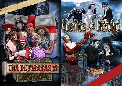 Teatro: Cuentos de Navidad y Una de piratas en el Quintero Sevilla