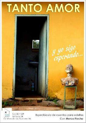 Cuentos: Tanto amor. Y yo sigo esperando en la Casa Tomada Sevilla