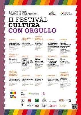Festival de cultura con orgullo de Sevilla 2018