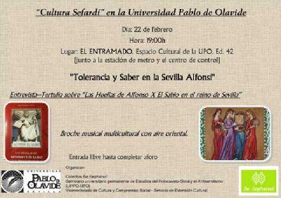 Tolerancia y saber en la Sevilla Alfonsí en la Pablo de Olavide de Sevilla