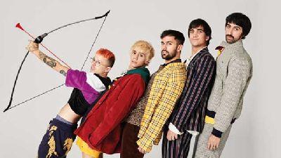 Foto promocional del grupo Cupido