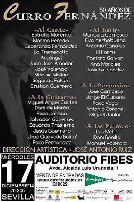 Flamenco: 50 años de Curro Fernández en Fibes Sevilla