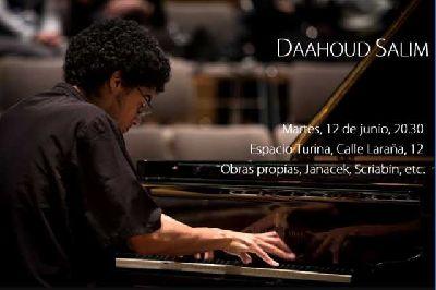 Concierto: Daahoud Salim en el Espacio Turina de Sevilla 2018