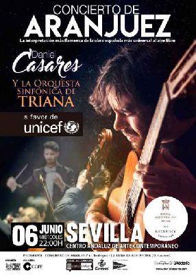 Concierto de Aranjuez por Daniel Casares en el CAAC de Sevilla