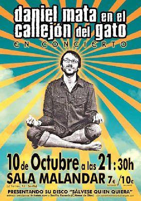 Concierto: Daniel Mata en Malandar Sevilla