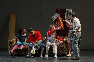 Danza: Allee der Kosmonauten en el Teatro Central de Sevilla