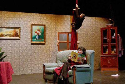 Foto promocional de la obra Anda que no ni ná de la compañía La Petite Producciones