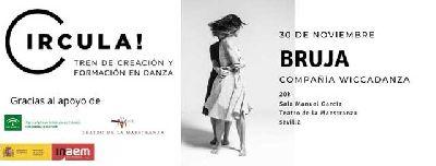 Cartel de ¡Bruja! en el Teatro de la Maestranza de Sevilla 2019