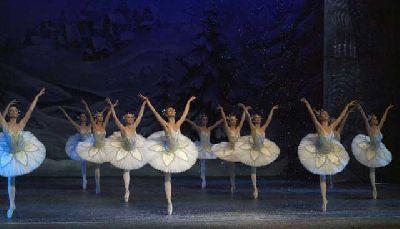 Foto promocional de El Cascanueces por el Ballet de San Petersburgo