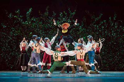 Foto promocional del espectáculo Centenario Antonio Ruiz Soler del Ballet Nacional de España