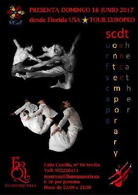 Danza: Surfscape Contemporary Dance Theatre (SCDT) en Sevilla