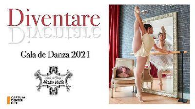 Cartel de Diventare en el Cartuja Center de Sevilla 2021