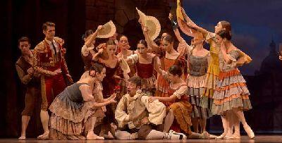 Danza: Don Quijote en el Teatro de la Maestranza de Sevilla