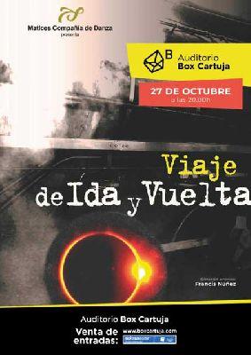 Cartel promocional del espectáculo Eclipse, viaje de ida y vuelta en Box Cartuja Sevilla 2019