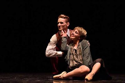 Foto promocional de Fellini, la dolce vita di Federico del Ballet de Siena