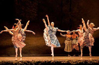 Foto promocional de Giselle por la Compañía Nacional de Danza