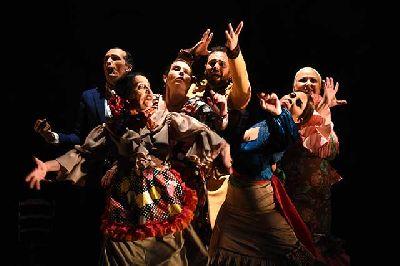 Foto promocional del espectáculo Gozo y llanto