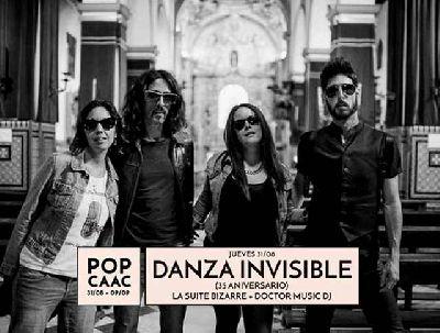 Concierto: Danza Invisible y La Suite Bizarre en Pop CAAC Sevilla 2017