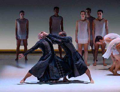 Foto promocional de la pieza de danza La Pastorale