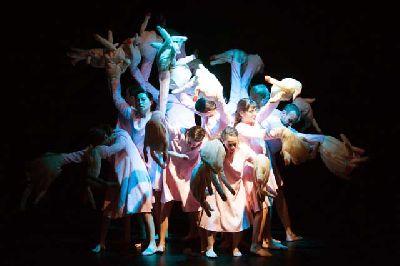 Danza: Vertebración V en el Teatro de la Maestranza de Sevilla