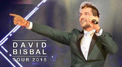 Concierto: David Bisbal en el Auditorio Rocío Jurado de Sevilla 2018
