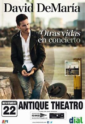Concierto: David DeMaría en Antique Sevilla