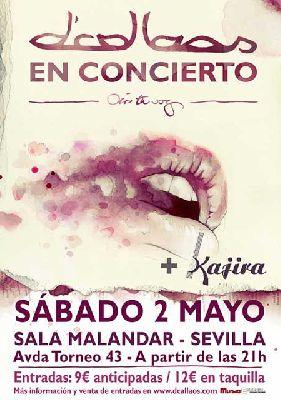 Concierto: D'Callaos en Malandar Sevilla (mayo 2015)