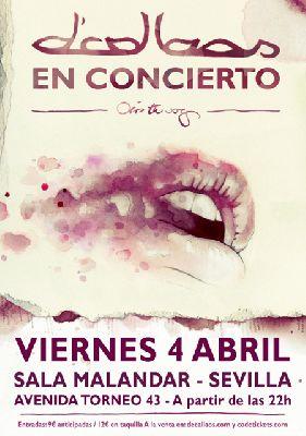 Concierto: D'Callaos en la sala Malandar de Sevilla