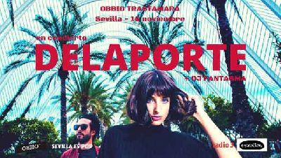 Concierto: Delaporte en la sala Obbio de Sevilla 2018
