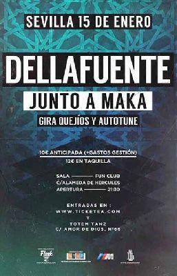 Concierto: Dellafuente y Maka en FunClub Sevilla 2016