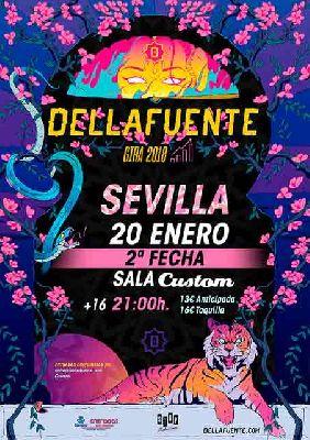 Concierto: Dellafuente en Custom Sevilla 2018