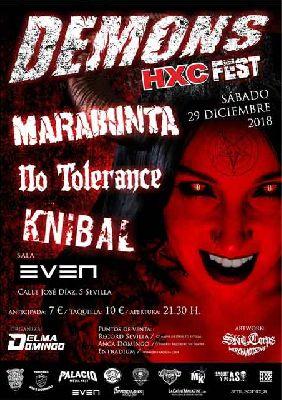 Concierto: Demons HXC Fest en la Sala Even Sevilla 2018