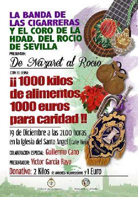 Concierto: De Nazaret al Rocío en el Santo Ángel de Sevilla