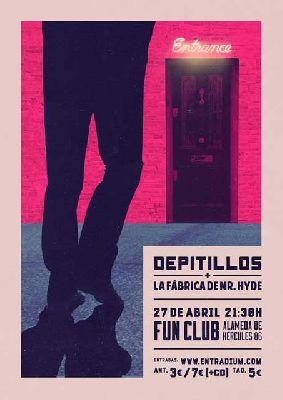Concierto: Depitillos y La Fabrica de Mister Hyde en FunClub Sevilla